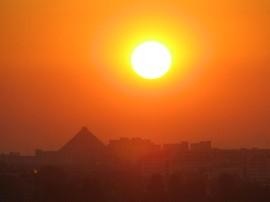 © AMADEA | Morgensonne über Wien (11.8.13)